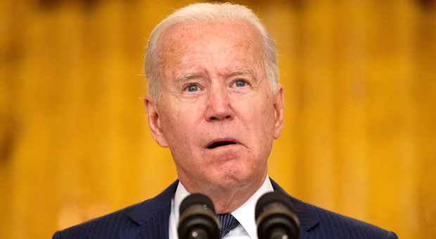 last month  biden said he was taking orders from unidentified handlers operating behind the scenes