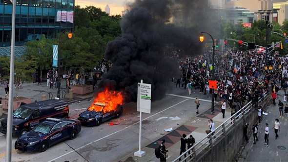 the  disruption  would likely involve a repeat of the summer s black lives matter antifa violence