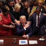 African-American Leaders Pray for Trump During Black History Month Celebration