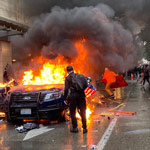 Two Lawyer BLM Protesters Who Torched Police Vehicle Face Up to Life in Prison