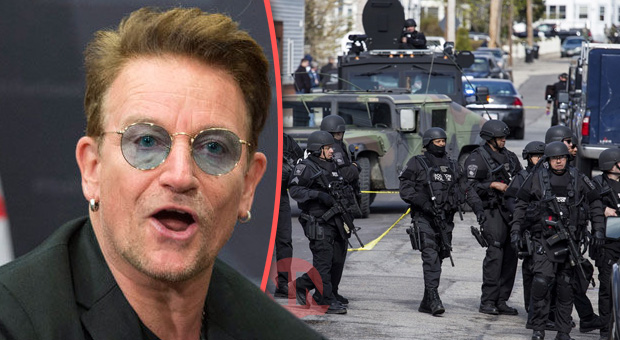 Bono Calls for Martial Law on US Streets to 'Save America From Itself'