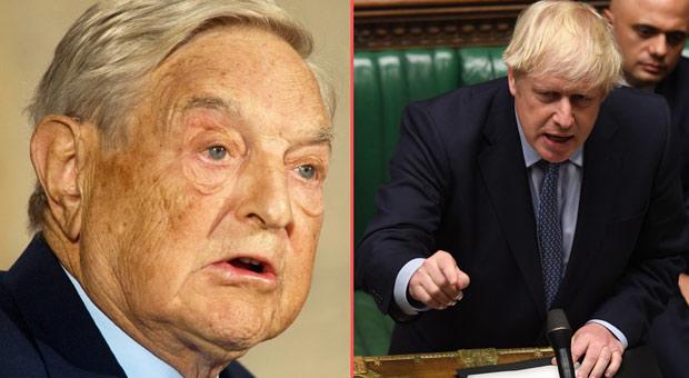 Boris Johnson Orders Investigation into George Soros Over Anti-Brexit Campaign