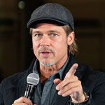 Brad Pitt Warns France: Trump is a 'Threat' on 'Serious Issues'