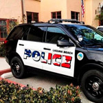 California Liberals Outraged Over Police Patrol Car's Patriotic Lettering