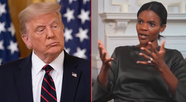 candace owens warns democrats are trying to oust president trump by rigging the election