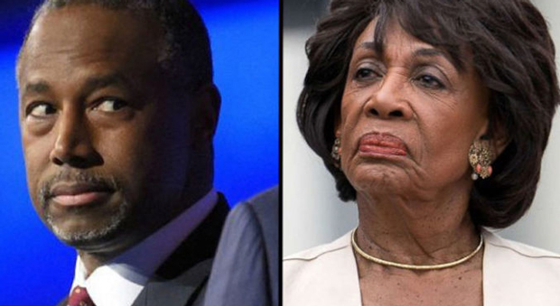 Carson Shreds Maxine Waters After She Says Trump's 'Shamelessness Knows No Bounds'