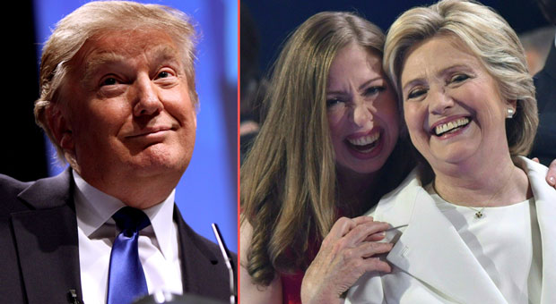 chelsea clinton claims president trump is obsessed with her mother hillary