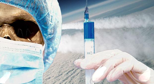 chemtrails nu används för att leverera vaccin s utan sparka tillbaka från allmänheten