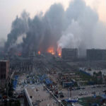China Explosions: City Of Tianjin Ripped Apart By Toxic Fireball