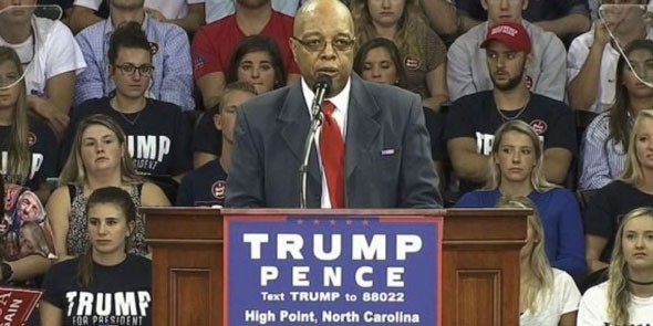 clarence henderson is calling on black americans to vote for president trump