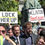 Hillary Clinton's Visit To Ireland Ends In Chaos As Protesters Scream 'Go Home'