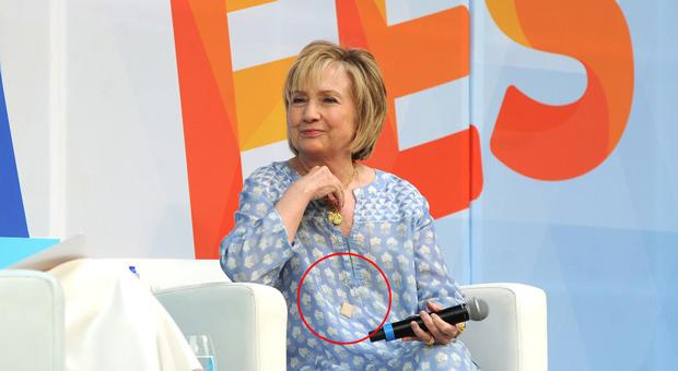 Hillary Wears Life Alert Panic Button Amid Health