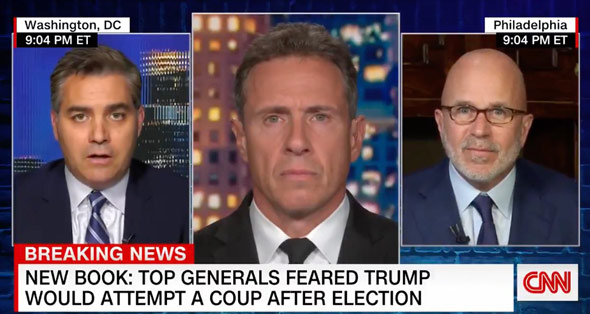 jim acosta made the remarks on cnn s  cuomo prime time