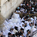 news thumbnail for 100s Pray at Western Wall to Cure Coronavirus   God Has Power to Send Healing