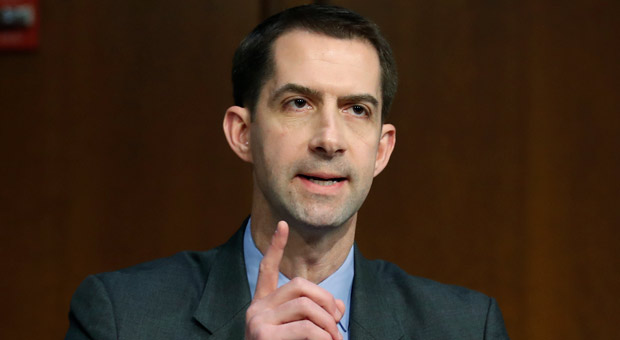sen  tom cotton  r ar  warned the provision would lead to more illegal immigration