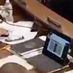 Democrat Caught Watching Golf During Impeachment Hearing - WATCH