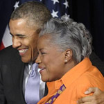 Donna Brazile Defends Obama Over 2016 Russian Meddling: 'He Was in a Box'