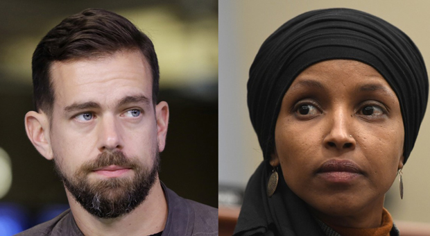twitter ceo jack dorsey refuses ilhan omar u2019s request to