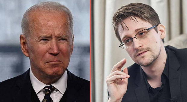 edward snowden says joe biden is  deeply involved  in spying on foreign leaders