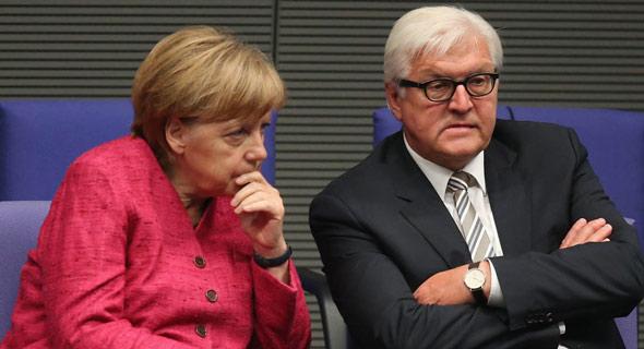 german leaders chancellor angela merkel and president frank walter steinmeier were targeted by the operation