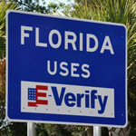 Gov DeSantis Sends Warning to Illegal Aliens by Hanging Signs on All Florida Highways