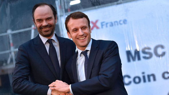 french pm edouard philippe hopes the new laws will stop citizens protesting against president macron