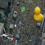 Protesters Swarm The Streets Of Brazil As Uprising Takes Hold