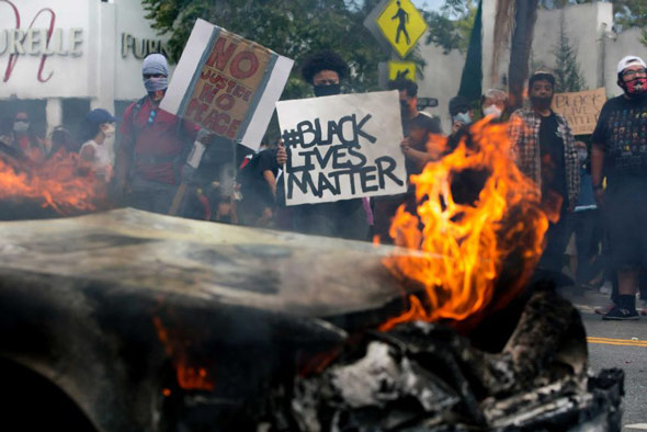 george soros is pumping money into black lives matter as america is ravaged by protests and rioting