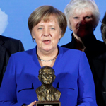 Angela Merkel Urges Europe to 'Stand up' to 'Excessive Nationalism'