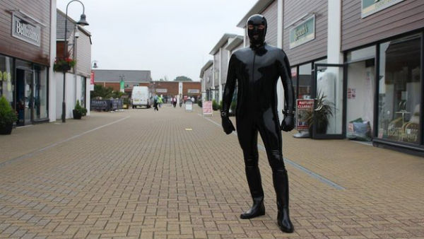 Essex Man In Gimp Suit Aims To Raise Money For Mental Health CharityGimp Man