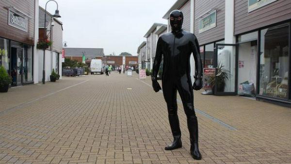 Essex Man In Gimp Suit Aims To Raise Money For Mental Health CharityGimp Man