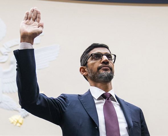 google ceo sundar pichai was grilled by lawmakers on his company s practices