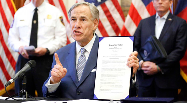 gov greg abbott r vows to defend the gins rights of texans