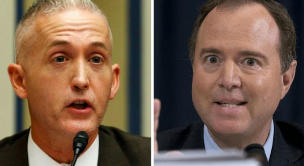 Gowdy Urges Intelligence Officials to Stop Briefing 'Epidemic Leaker' Adam Schiff
