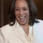 Kamala Harris Caught Smiling Before Discussing 'Solemn, Serious' Impeachment - WATCH