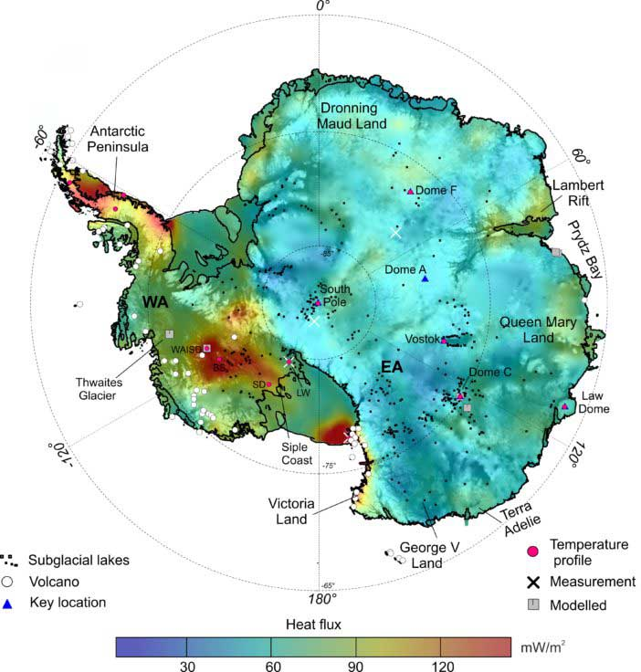 Clip On Fitness Tracker >> Heat Map Exposes 'Top Secret' Government Bases In Antartica