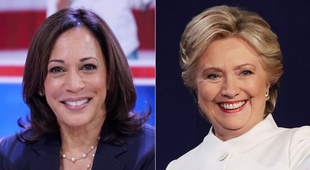Hillary Gushes Over Kamala Harris: She's 'Going to Be Terrific' Vice President