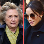 Hillary Clinton Holds Secretive Talks with Meghan Markle During UK Tour