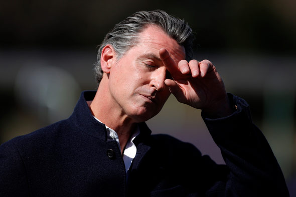 hollywood celebrities are rushing to protect their beloved democrat governor  gavin newsom