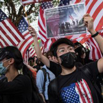 Hong Kong Protesters Stop Demonstrations to Remember 9/11 Victims