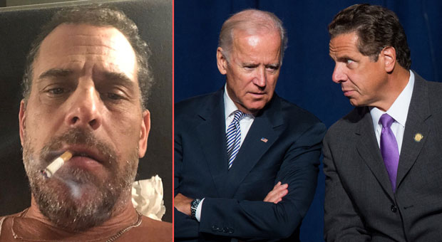 a newly revealed email from hunter biden names top democrats including new york s gov cuomo