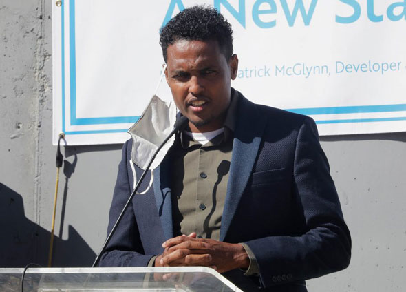alleged ballot harvester liban mohamed is the brother of democrat minneapolis city council member jamal osman pictured
