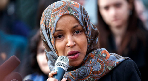 Ilhan Omar Blames Trump for Iran-Linked Attacks on Oil Tankers