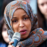 news thumbnail for Ilhan Omar Blames Trump for Iran Linked Attacks on Oil Tankers