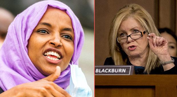 Sen Blackburn Declares Ilhan Omar a 'Threat to Our Democracy,' Demands Resignation