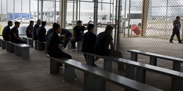 Illegal Immigrants Sue DHS for Overcrowding in Detention