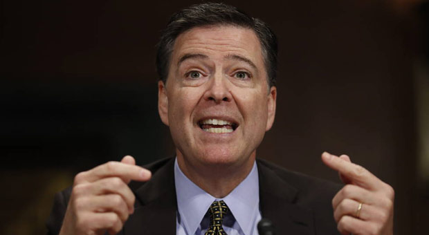Image result for Comey, If Trump Wins In 2020 I'm Moving To New Zealand