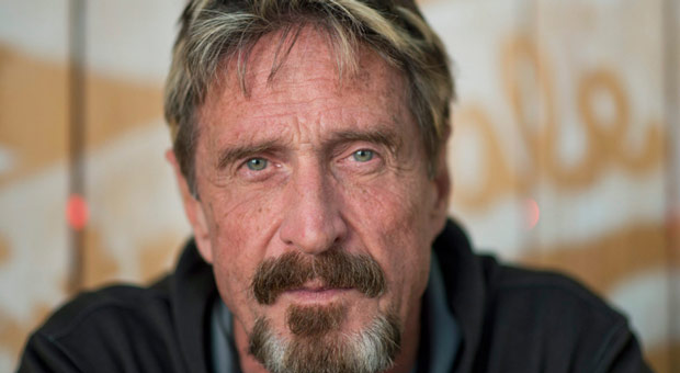 John McAfee Found Dead After Warning: 'If I Suicide Myself, I Didn't'