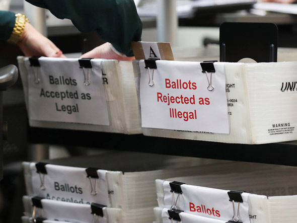 Judge Orders Election Do-Over as Voter Fraud Proved for 78% of Mail-In Ballots Judge-78-mail-in-ballots-invalid-election-official-arrested-35321