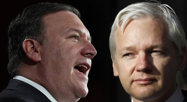 Julian Assange: The CIA Director is Waging War on The Truth